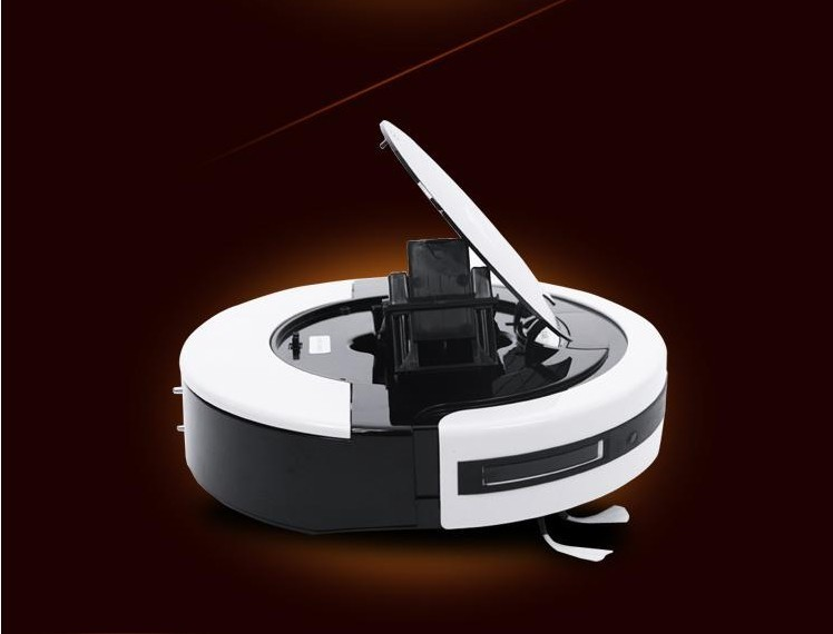 Free shipping intellegent sweeper robot floor Vacuum cleaner Robot push sweeper ash catcher mothers fathers day gift