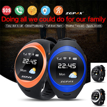 ZGPAX S888 Bluetooth Waterproof Smart watch Children Elder SOS GPS Tracking Smartwatch Anti-lost alarm For iOS Android Phone(China (Mainland))