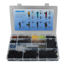 C-100 Fuel Injector Rebuild Kit universal type,fuel injection / injector repair service kits (more than1000 pcs,14 kinds /box  )(China (Mainland))