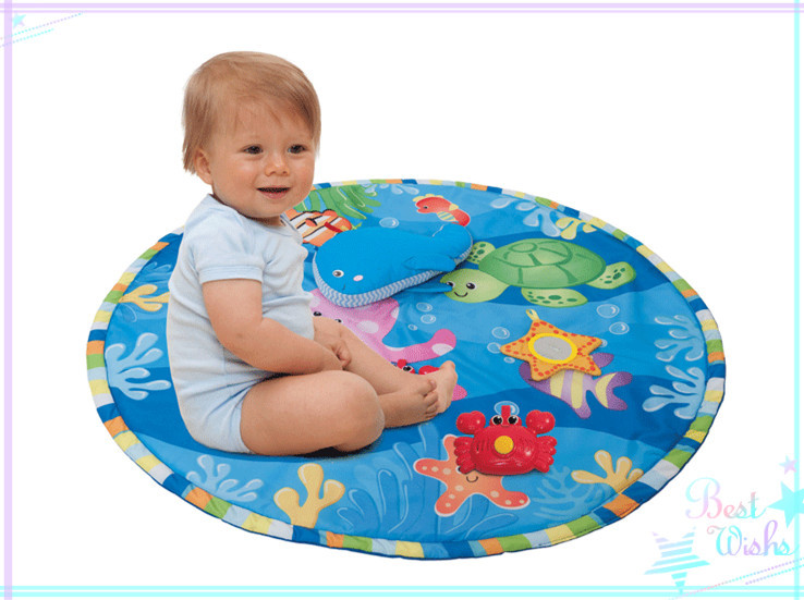Фотография Fashion Desin Baby Playmat Suit For Baby Over 3 Months Anti-slip Cloth Pad Isolated Bacteria Fast Delivery No Postage