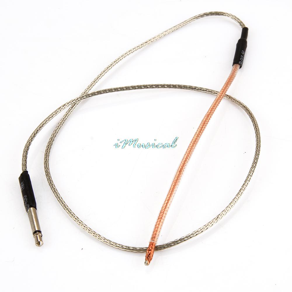 Free Shipping Bendable Piezo Cable Under Saddle Pickup for Acoustic Guitar EQ Guitar Parts Accessories(China (Mainland))