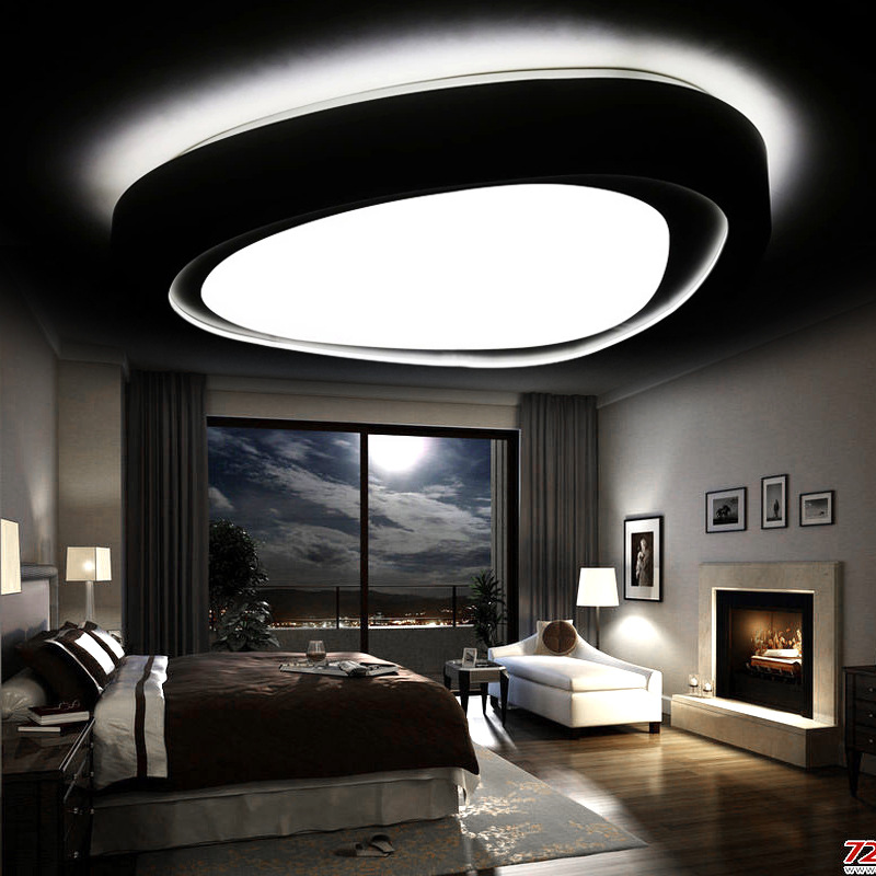 Led Ceiling Lights For Living Room Lustres De Sala E Light Fixture ...
