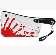 PU Leather Fashion Handbag kitch knife Messenger bag creative gift Day clutches(China (Mainland))