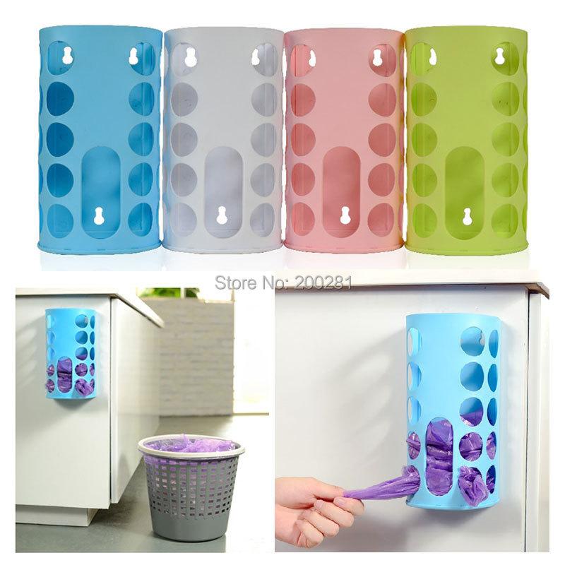 Compra papeleras de reciclaje de pl stico online al por - Organizador de bolsas de plastico ...