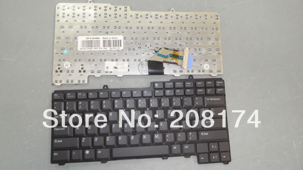 Laptop Keyboard For Dell Latitude D610 Inspiron 610M H4406(China (Mainland))
