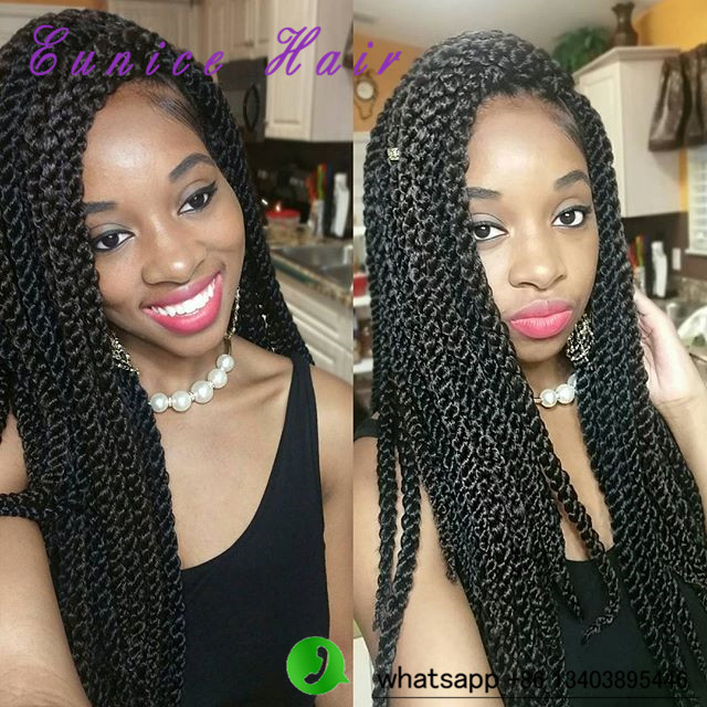 Crochet Hair Untwisted : .com : Buy 3D Cubic Twist Crochet Braids 12strands HAVANA Twist Hair ...