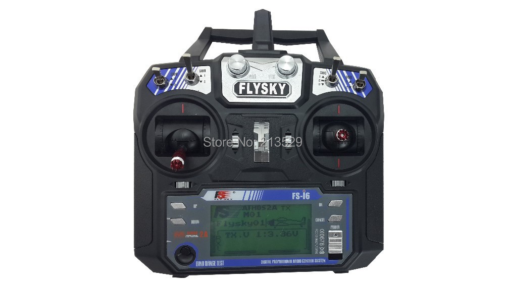 FlySky FS-i6 2.4G 6ch Transmitter and Receiver System LCD screen for RC helicopter