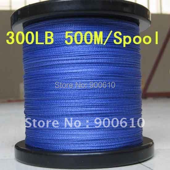 Super Strong 100% UHMWPE 8-Braid Fishing Line 300LB 1.1MM 500M/Reel Free Shipping