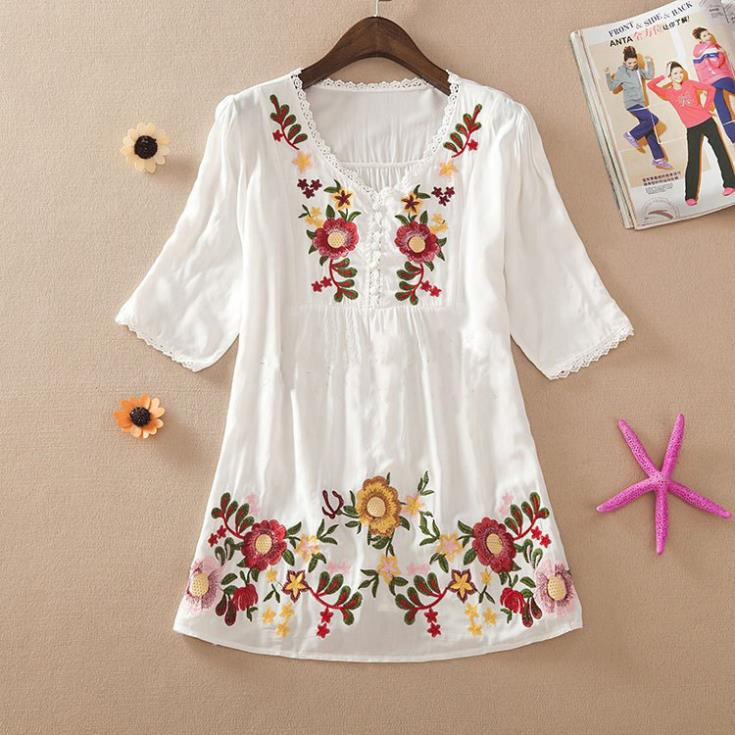 Hot Cotton Blouses 62