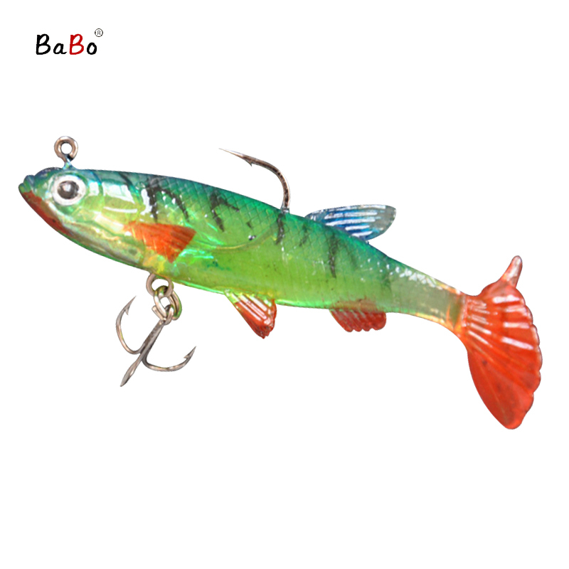 Fishing lures bass soft bait artificial hooks fish wobbler for Best hooks for bass fishing