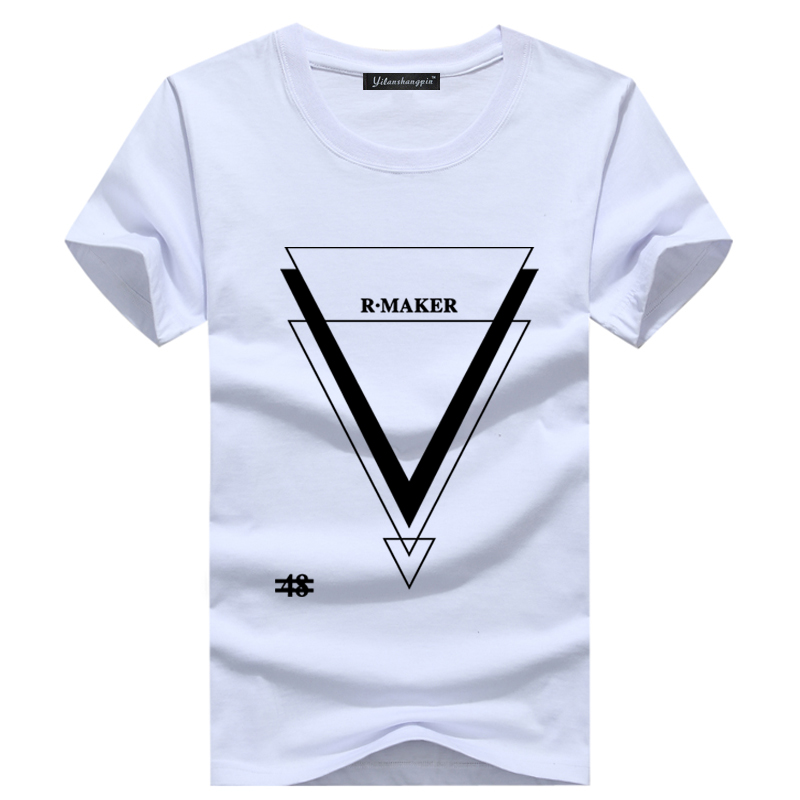 2016 Summer Hot Sale T Shirts Men Cotton O Neck Man T-Shirt High Qulity Short Sleeve Mens T Shirt(China (Mainland))