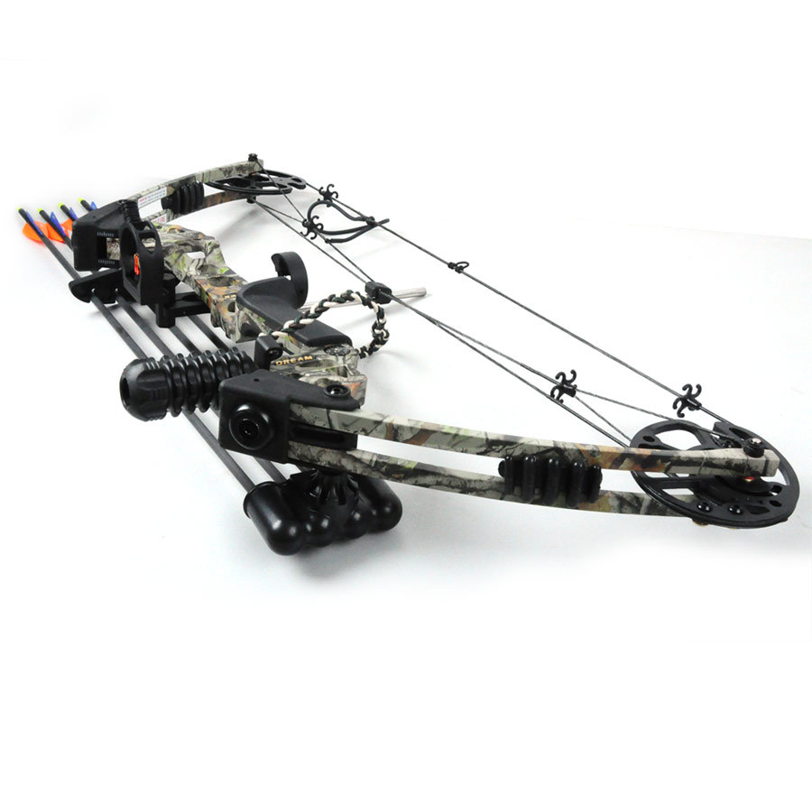 The Dream bow Camo color hunting compound bow bow and arrow archery set China Archery Black