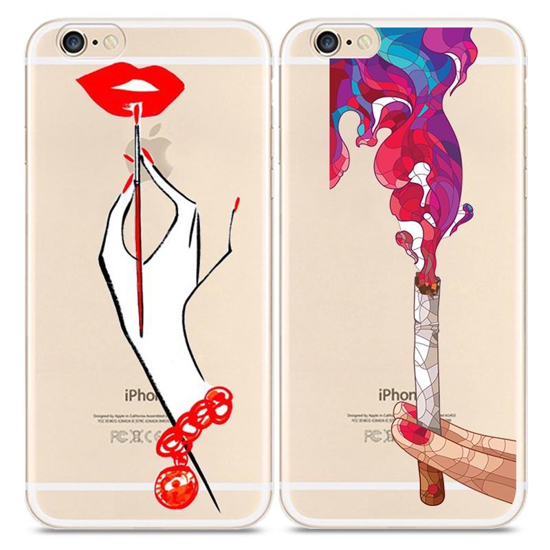 Tattooed Alice Cinderella Princess Cover Coque Fundas For Apple Iphone 4 4s 5 5s se 6 6S 7 Plus 6Plus 7Plus Silicone Phone Cases