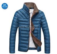Осень и зима новый Хан выпуск мужской моды, культивировать в морали чистый цвет воротника добавить шерсти