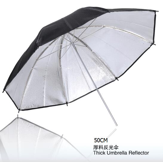 NiceFoto SUM-20(50cm) Studio lighting accessories Thick umbrella reflector, photography umbrella 50CM(China (Mainland))