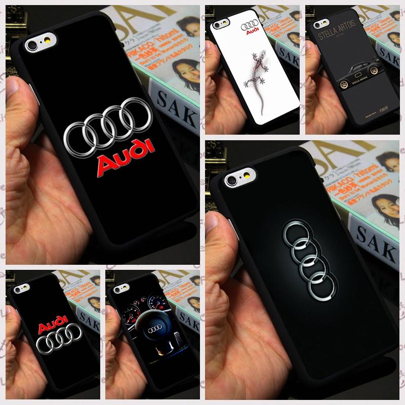 2016 6P 6S Car Logo Hard Plastic Mobile Phone Case Cover For Apple iPhone5S 4S 5C 6 Plus Honda Jeeps Mazda Audi Case(China (Mainland))
