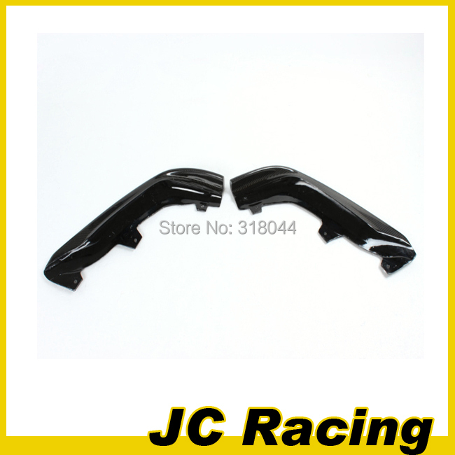 Carbon Fiber Front Bumper Splitters Flaps Aprons 1Pair Fit For Lexus IS250 ISF BUMPER ONLY 11-12(China (Mainland))