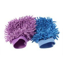 2016 Super Mitt Microfiber Car Wash Gloves Washing Cleaning Anti Scratch car washer Household care brush hot Sale