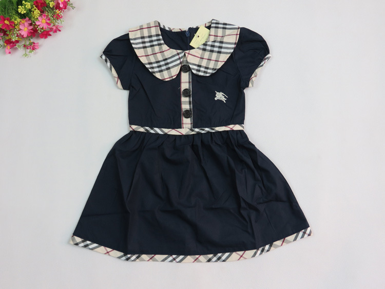 0.3Years Baby Gilrs Plaid Dress 2015  High Quality Fashion Bur UK  Princess Dresses Children Girls Casual Dress Multiple Colors(China (Mainland))