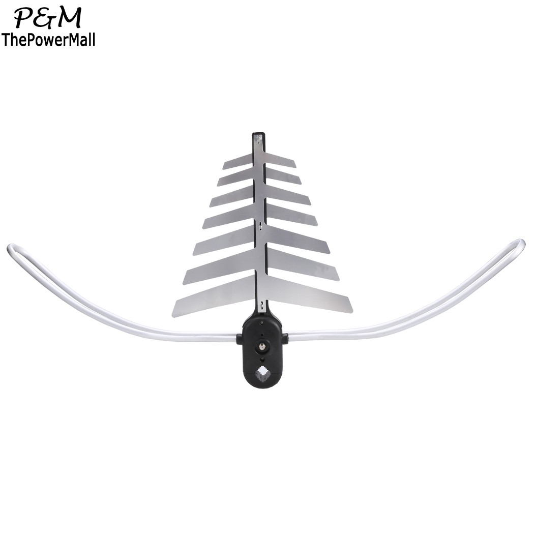 2016 New 150miles Outdoor Television Antenna Motorized Amplified High Definition TV High Gain UHF VHF US%B(China (Mainland))
