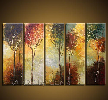 Free Shipping Hand Painted Hi Q Modern Home Decor Abstract