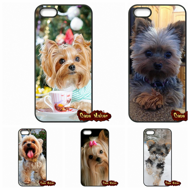 Yorkshire Terrier Puppy Dog Phone Capa Covers Case For Samsung Galaxy S S2 S3 S4 S5 MINI S6 S7 edge Plus Note 2 3 4 5(China (Mainland))