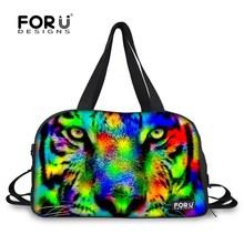Многофункциональный животных печать женские спортивные сумки бренд дизайнер женщины сумки досуг водонепроницаемый спортивную сумку для коврик для йоги