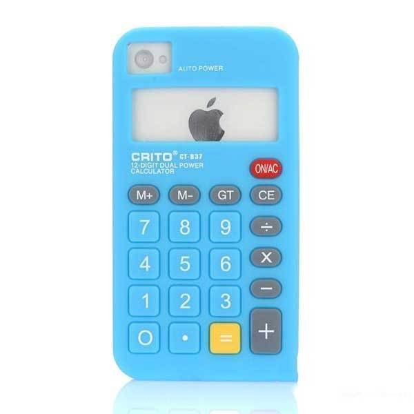 Bearlake Calculator Silicone Soft Skin Case Cover For iPhone 4 4S 4G(China (Mainland))