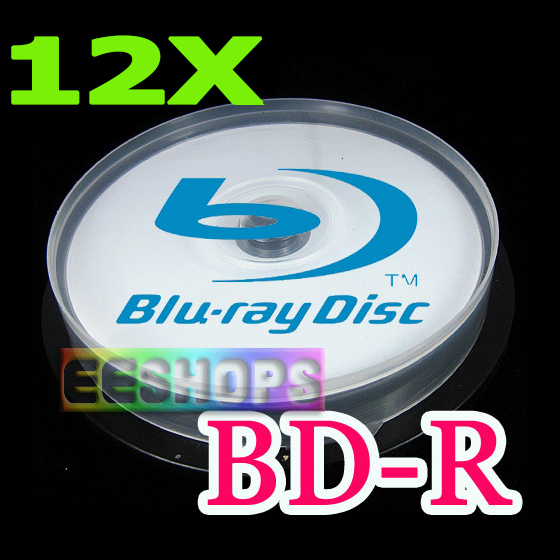 Cheap 50GB BD-R DL Recordable Blank Blu-ray Discs 6X 12X 8X Dual Layer Rewritable Printable DVD Disc Lot 25pcs Pack Drive Case(Hong Kong)
