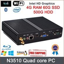 Mini pc J2850 intel Pentium Core Graphics HD Blu-ray resolution Window 8 quad core 300M wifi DirectX 11(China (Mainland))