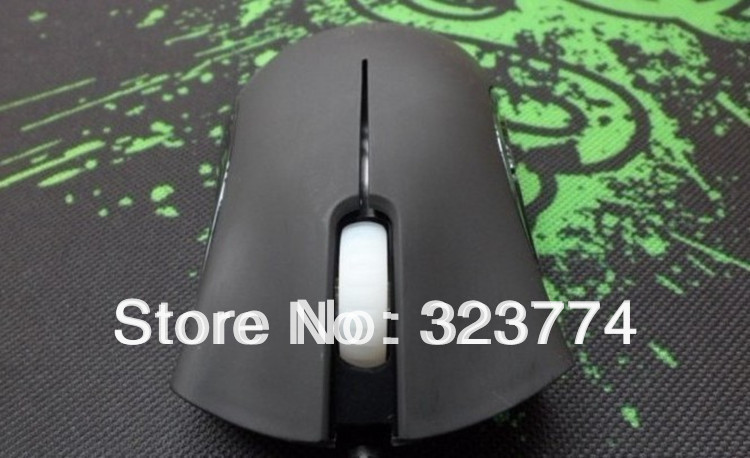 Discount Boxed!!! OEM for Deathadder Gaming Mouse 3500dpi Infrared/Competitive games must/Best Selling!!!Free Shipping.(China (Mainland))