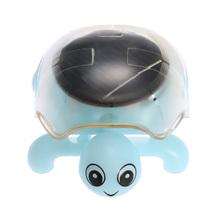 Popular Mini Solar Tortoise Cute Kids Toys Solar Powered Energy Tortoise Insect Educational Solar Toys for Children(China (Mainland))