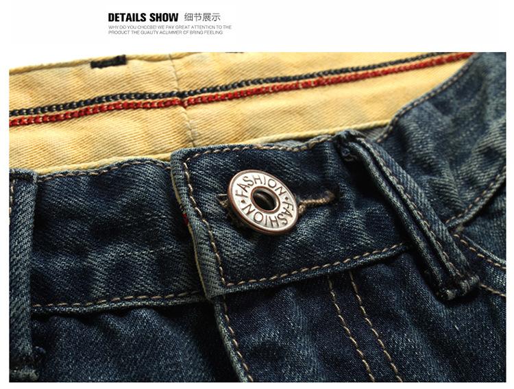Short Jeans men's fashion Shorts men big sale Summer clothes new fashion brand Men's short pants thin Hole denim shorts