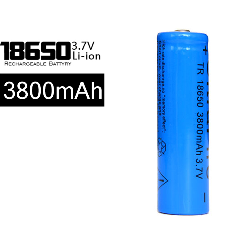 100pcs/lot 18650 High Capacity 3.7V Battery 3800mah Rechargeable Lithium Battery FOR Screwdriver LED Hot 18650 Li-Ion Battery <br><br>Aliexpress