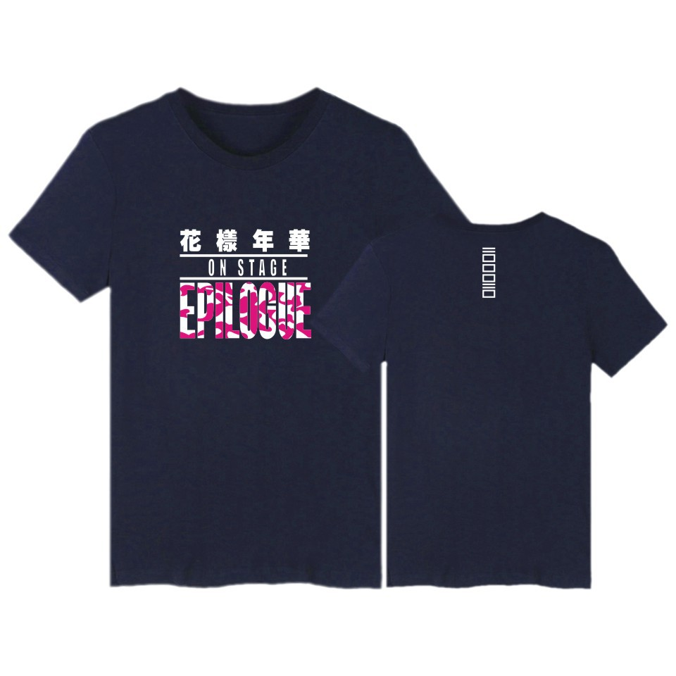 Bulletproof pattern time youth club Seoul concert with short sleeve T-shirt men and women who take summer wear(China (Mainland))