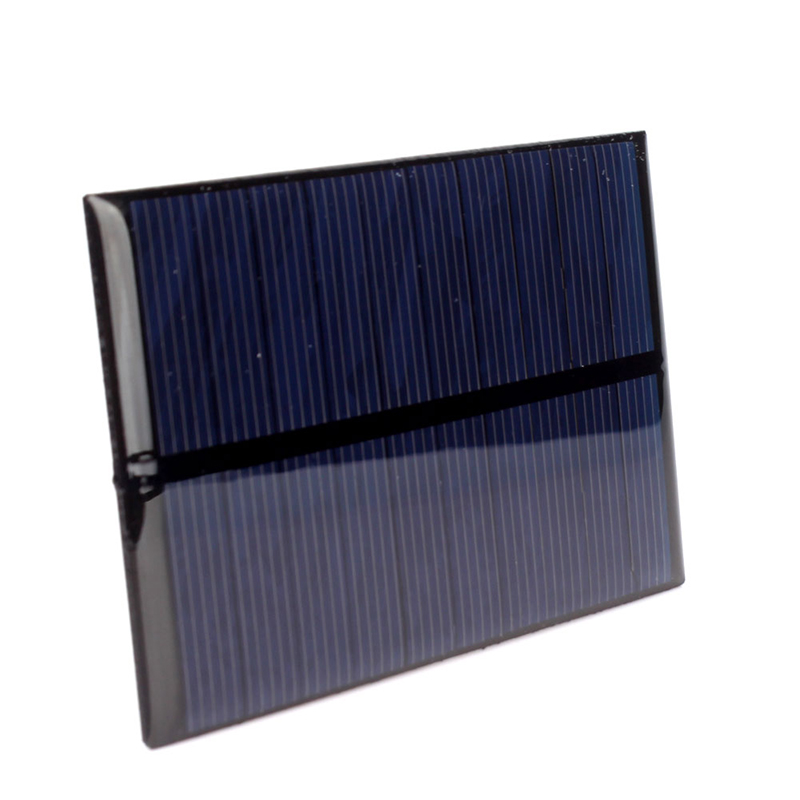 Hot Sale DIY 5V 1.2W 240mA Solar Panel Module Solar System Cells Charger #69410(China (Mainland))