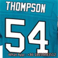 Men's #1 Cam #13 Kelvin #54 Shaq #58 Thomas #59 Luke #88 Greg White Blue Black Football Jersey 100% Stitched with Customized(China (Mainland))