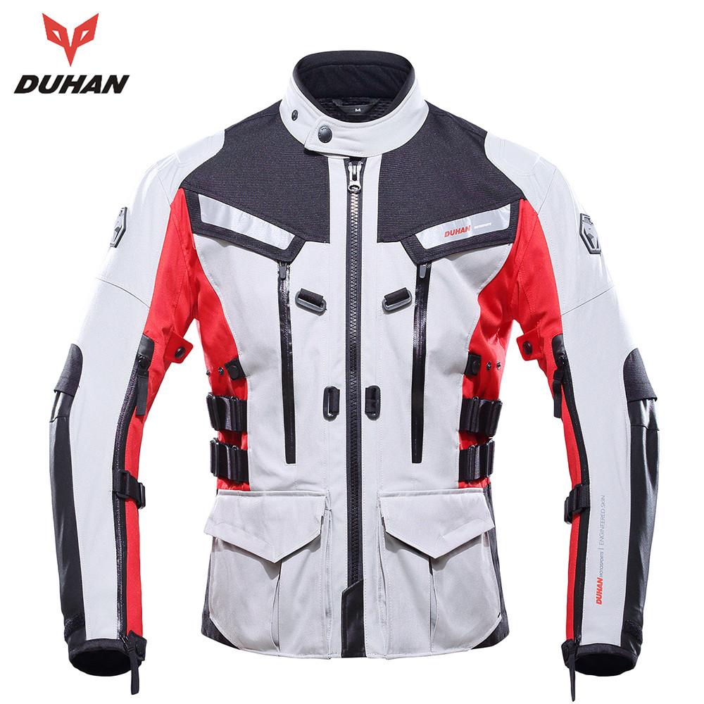 DUHAN Motocross Riding Equipment Gear Cold-proof Moto Waterproof Jacket outdoor Men's sports jacket(China (Mainland))