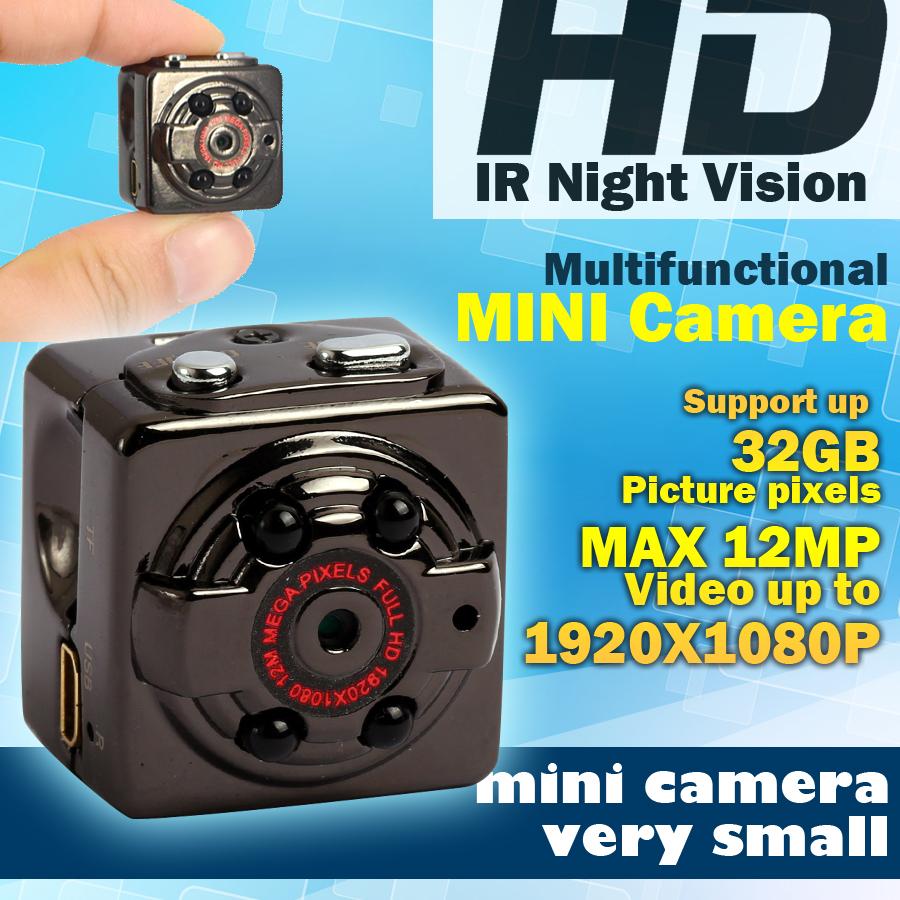 HD 1080P 720P Sport Spy Mini Camera Espia DV Voice Video Recorder Infrared Night Vision Digital Small Cam Hidden Camcorder(China (Mainland))