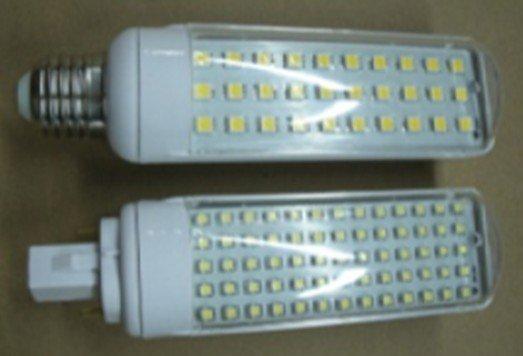 7W G24/E27 LED bulb,30pcs 5050 SMD LED,AC110V/220V input