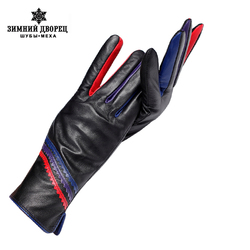 Кожаные перчатки для женщин