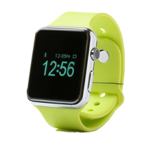 2015 Update W8 Smart Watch GV08S 1.54 inch 2.0M camera Support SIM card Bluetooth pedometer for android phone smartwatch
