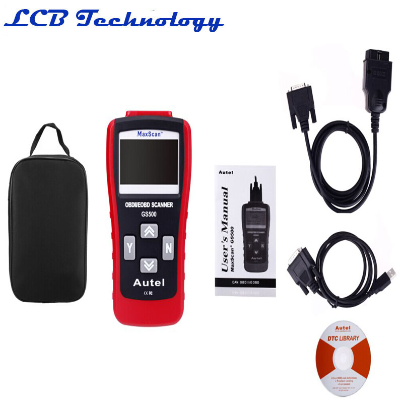 New Car Repairing Tool KW807 OBD2 Scanner Car Computer Vehicle Diagnostics Tool GS500 Auto Code Reader Scanner(China (Mainland))