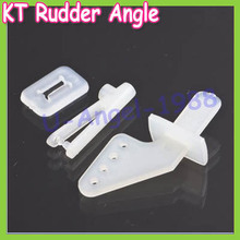 Wholesale 10set/lot KT rudder angle four-hole + quick adjustment rocker KT foam chuck Airplane Parts Aircraft(China (Mainland))