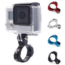 Buy GoPro Aluminum Bike Holder Xiao mi Yi 4k Sj4000 Action Camera Bicycle Handlebar Mount GoPro Hero 5 4 3 Accessories for $2.80 in AliExpress store