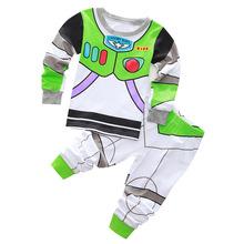 Buy Children clothing kids Buzz Lightyear pajamas baby pyjamas girls boys pijamas kids captain america spiderman pijamas sleepwear for $6.80 in AliExpress store
