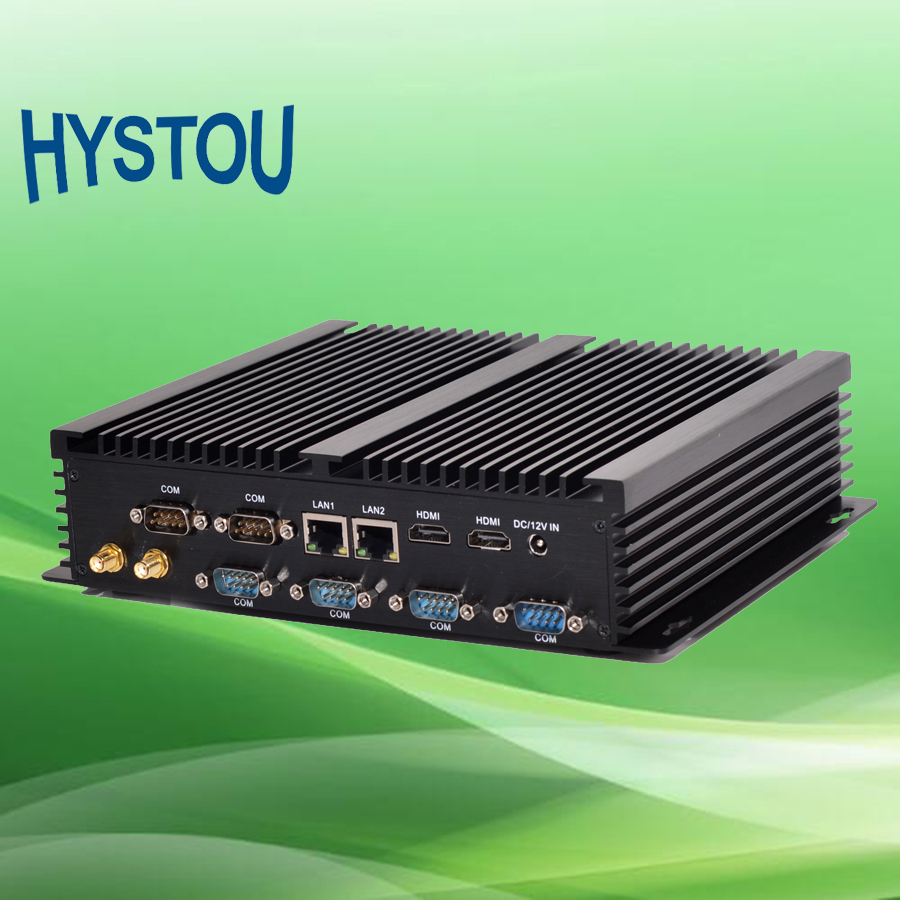 Industrial Fanless PC Mini Computer Core i7 4510u 4G DDR3 128G SSD 2.5 SATA HDD HDMI COM LAN WiFi Bluetooth(China (Mainland))