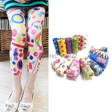Baby Kids Girls Leggings Trousers Pants Underwear Pattern Printed 5 12 Years