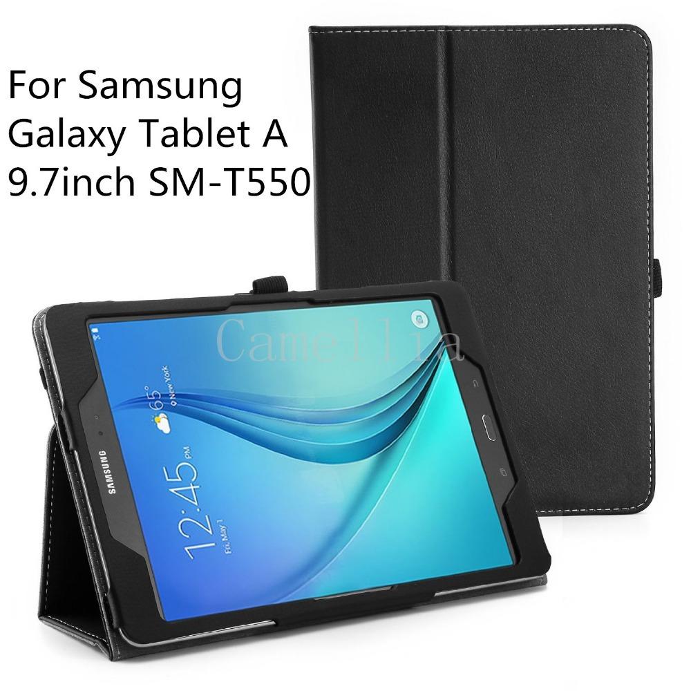 Гаджет  For Samsung Galaxy Tab A 9.7,Ultra Slim Lightweight SmartCover Stand Case For Samsung Galaxy Tab A SM-T550 9.7-Inch Tablet None Компьютер & сеть