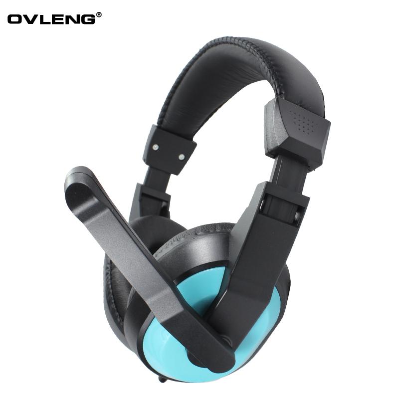 OVLENG / ovleng Q11 ear headphones headset computer headset USB jack shipping(China (Mainland))